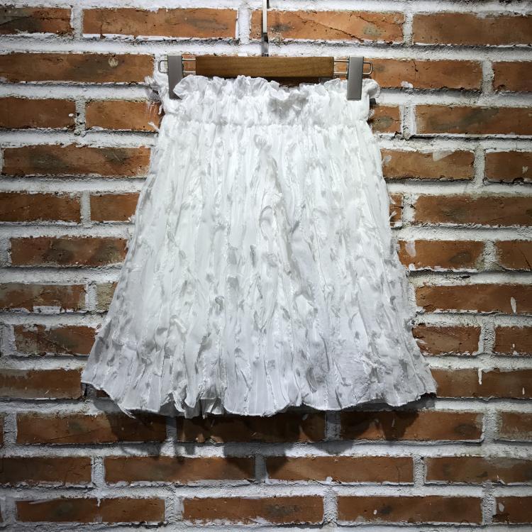 Sweet A-line short skirt slim skirt summer New High Waist Chiffon puff skirt womens umbrella skirt sun skirt