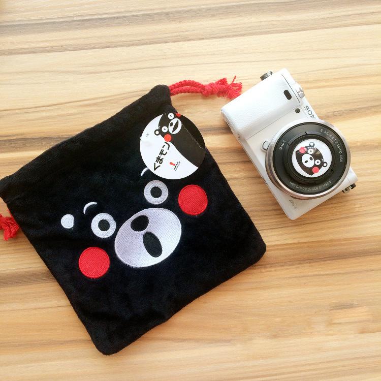 富士相机包熊本熊束口袋拍立得相机套摄影包索尼A6000A6300200D包券后17.00元