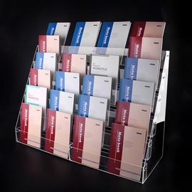 亚克力本册架 书本架手账展示架阶梯 超市文具店本册展示架 笔架