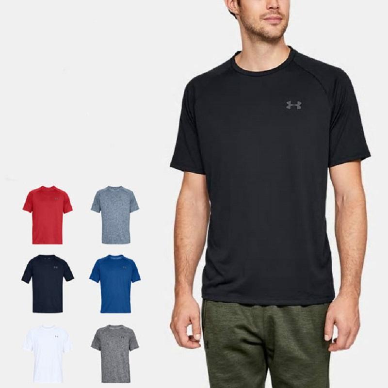 Under Armour安德玛UA短袖男速干衣宽松健身衣跑步运动T恤图片