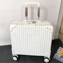 拉杆旅行皮箱子男学生小20寸铝框万向轮24网红女ins佐斯登行李箱
