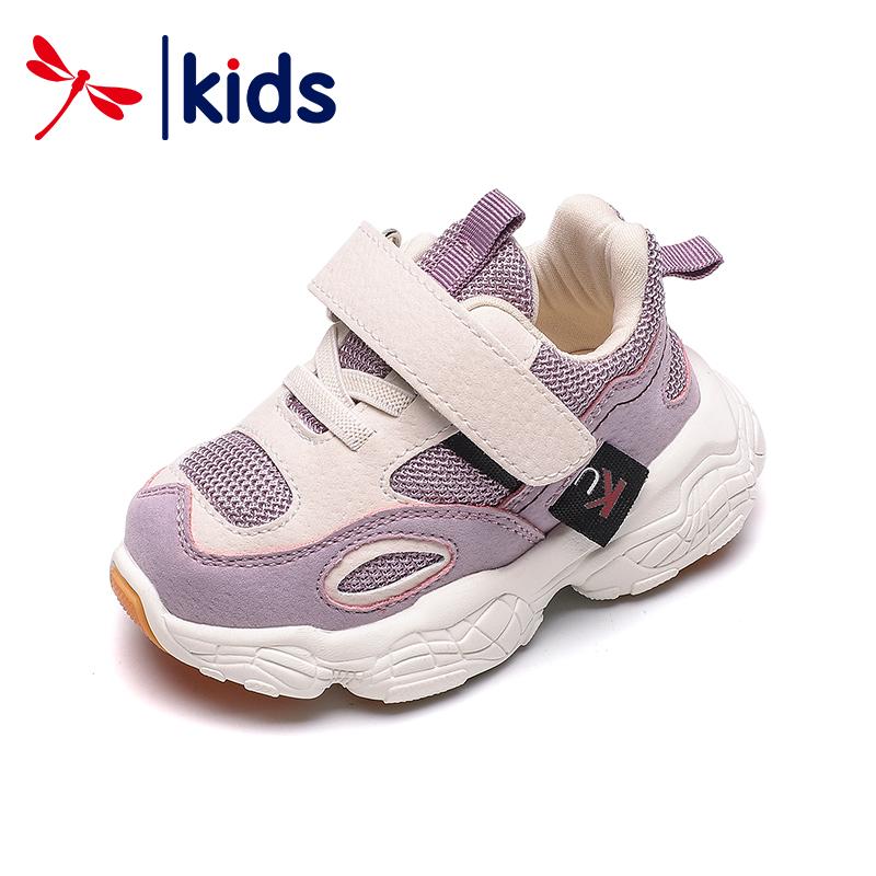红蜻蜓童鞋2019秋季新款女宝宝鞋子软底学步鞋男童幼儿机能运动鞋