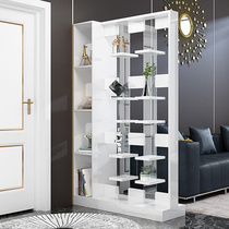 Simple modern creative screen partition fashion living room hollowed out cabinets double-sided foyer Cabinets wine Cabinets Hall Cabinets