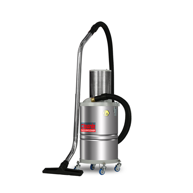Explosion proof pneumatic vacuum industrial cleaner for dust absorption from gas source of jielemei as-ex30 factory