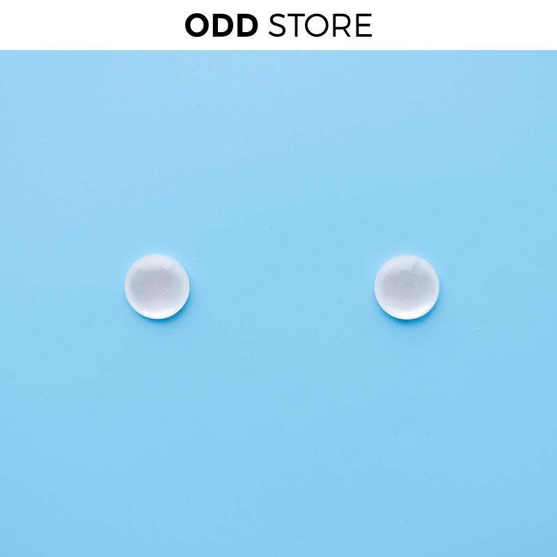 11月07日最新优惠ODD STORE |回馈款|进口树脂仿猫眼石百搭气质冷淡风ins耳环耳夹