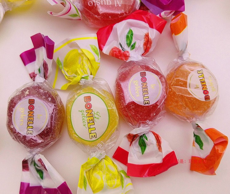 Bonelle fruit jelly soft candy imported from Italy