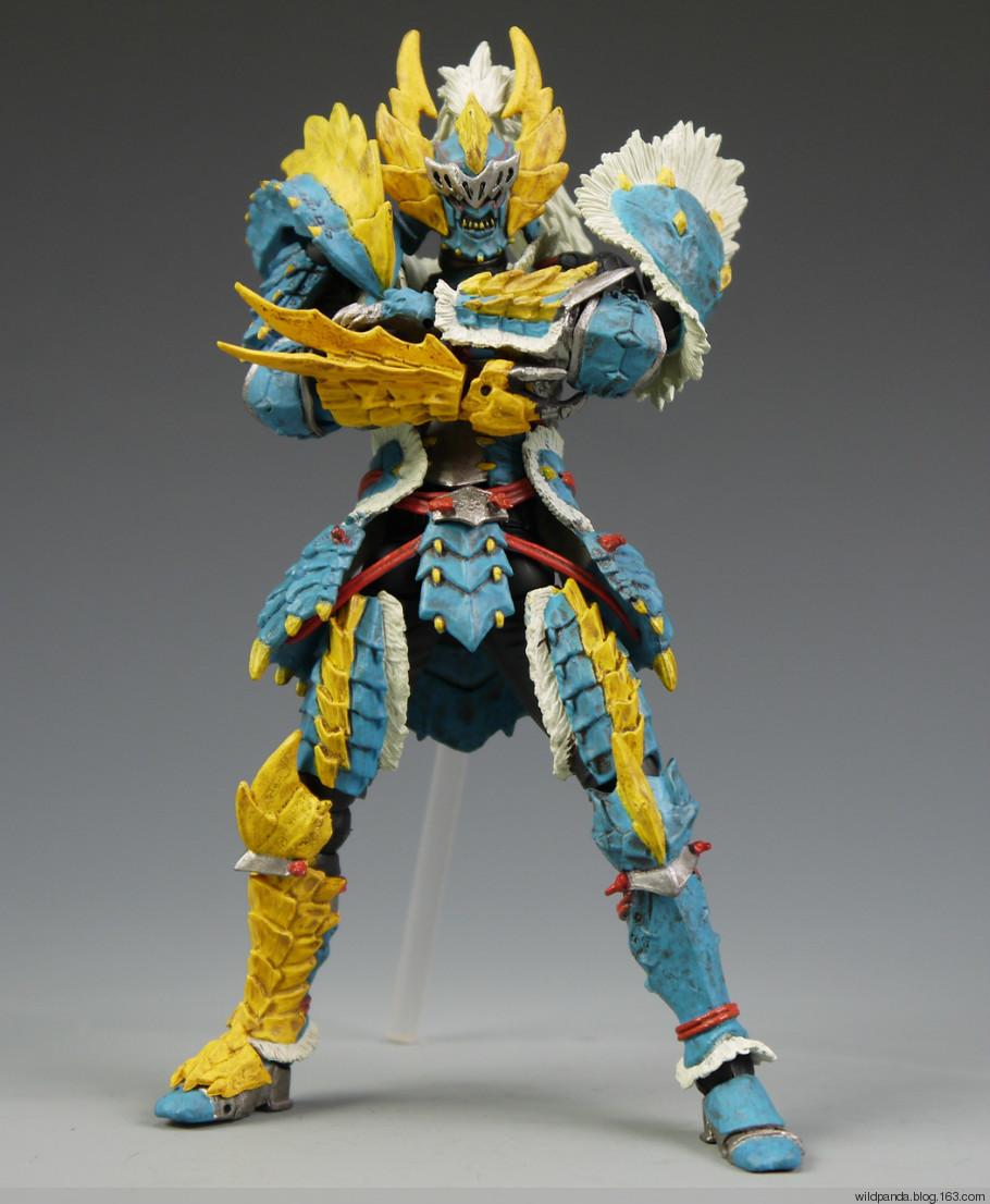 【大公道具】 怪物猎人 雷狼龙剑士 盔甲 cos道具定制