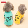 Teddy small dog clothes summer clothing VIP Bichon Pomeranian puppy small dog cat pet vest Summer thin section