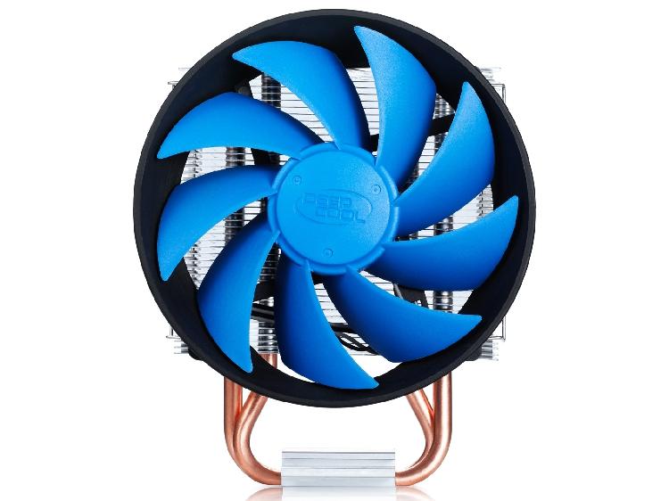 九州风神玄冰智能版CPU散热器 775/115X/1150/AMD静音CPU风扇