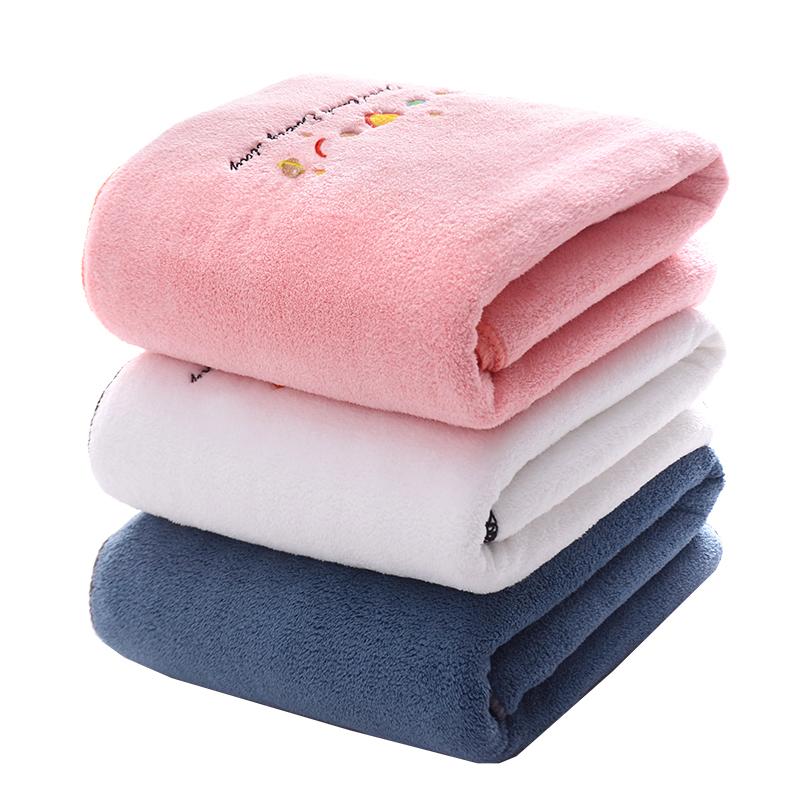 大号浴巾成人比纯棉全棉吸水家用男女儿童不掉毛速干可爱毛巾裹巾