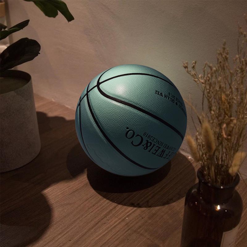 Guanwei basketball TIFFANY BLUE 4 / 5 / 6 / 7 custom lettering Tiffany green gift blue ball Lanqiu