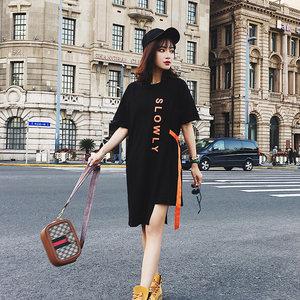 欧洲站夏季连衣裙特卖今日亏本清仓处理女装9.9元包邮加大码T恤裙