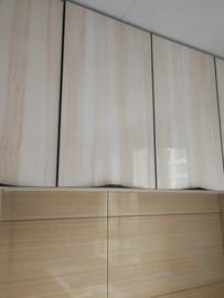 橱柜门 玻璃门全铝门钢化玻璃门灶台门现代简约晶钢门图片