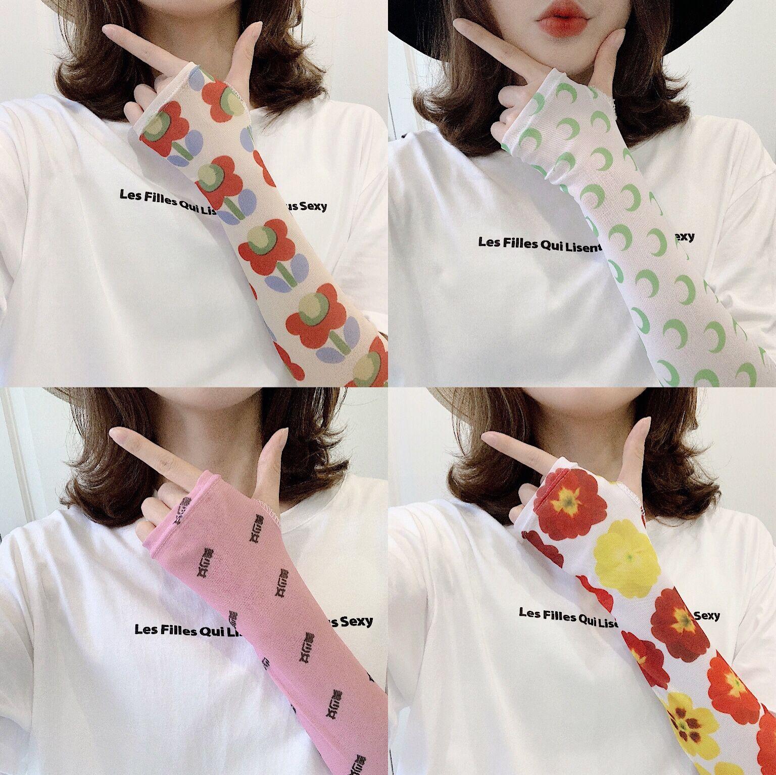 10-17新券冰袖女泫雅防紫外线韩版潮新款袖套