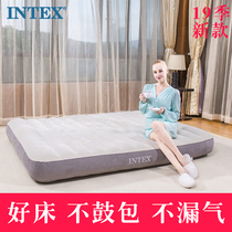 Intex Inflatable Bed Home single Double inflatable mattress thickened hoverboard bed lunch break bed outdoor Ultra Light Mattress