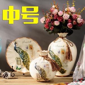 领10元券购买家装摆设家居装饰品欧式陶瓷花瓶