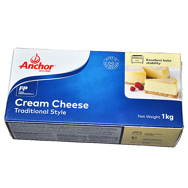 Anjia Cheese 1KG Anjia Cream Cheese Anjia Cream Cheese