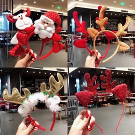 圣诞装饰品成人儿童装扮玩具圣诞节头箍万圣节鹿角发箍头扣发饰品图片