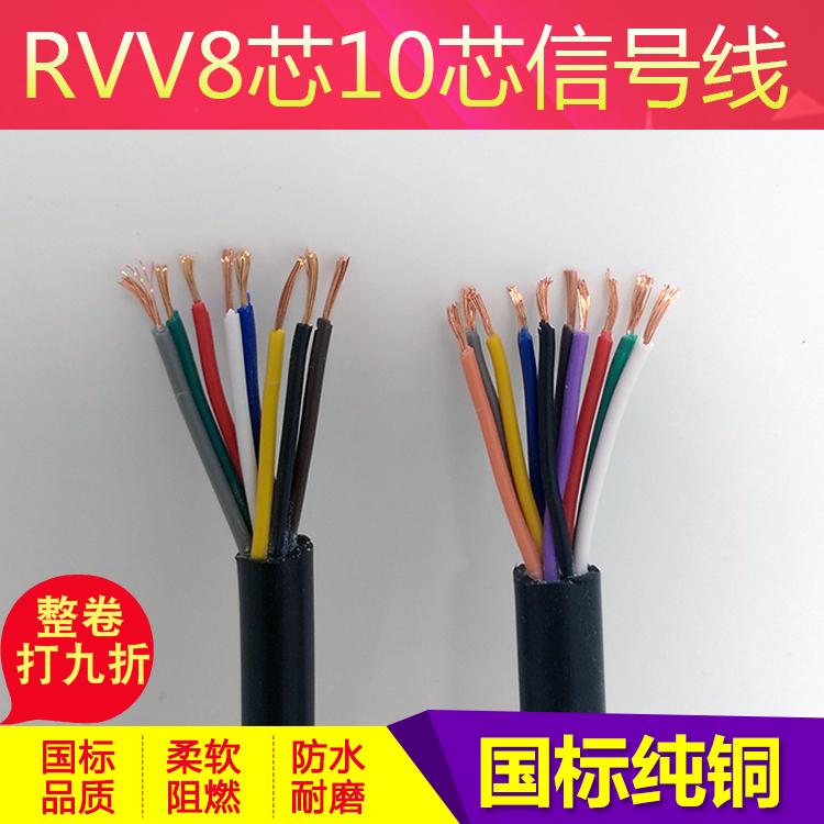 纯铜电线RVV