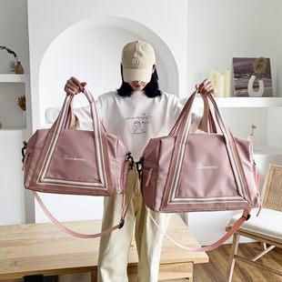 网红旅行包女大容量轻便短途手提行李包健身包女小收纳出差旅游包