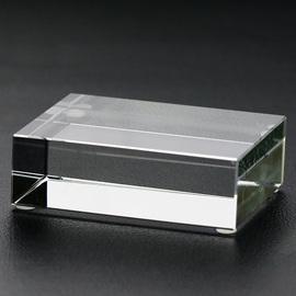 高档家居水晶摆件工艺品 创意琉璃底座水晶公司商务礼品定制logo图片