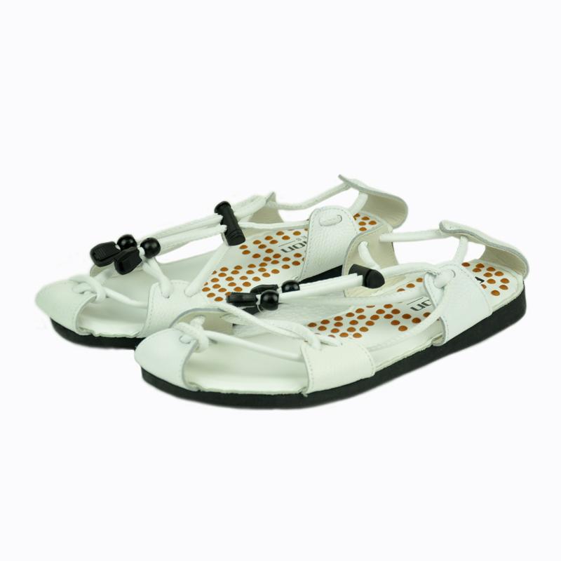 2018夏季真皮男士凉鞋中国风包头个性按摩罗马凉鞋沙滩鞋X93-P70