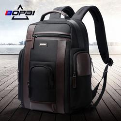 BOPAI博牌商务双肩包男大容量男士背包短途旅游休闲防盗电脑包