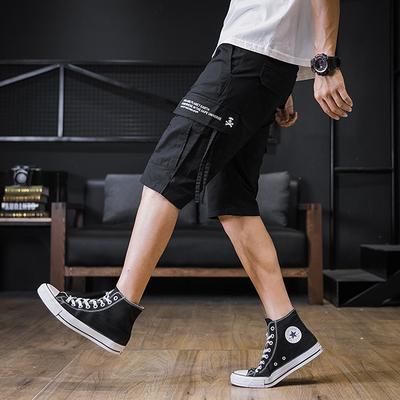 B257A时尚先生k8006#2019夏新品高品质精梳全棉日系短裤P48