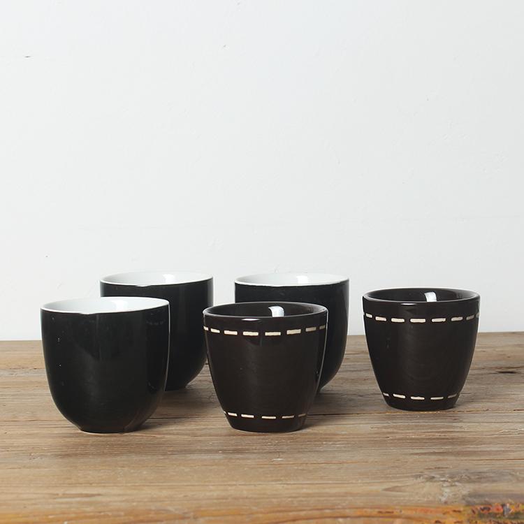 [创意日式] черный [茶杯江中杯特色小酒杯茶盏] без [把杯]