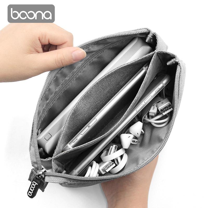 包纳手机收纳袋 耳机数据线充电宝布袋子移动硬盘包U盾数码包