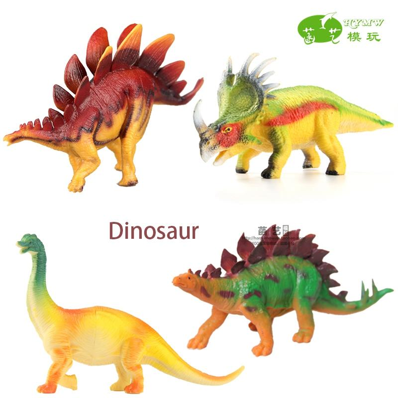 仿真恐龙模型腕龙剑龙幹龙雷龙恐龙动物游戏玩具装饰车饰摆设