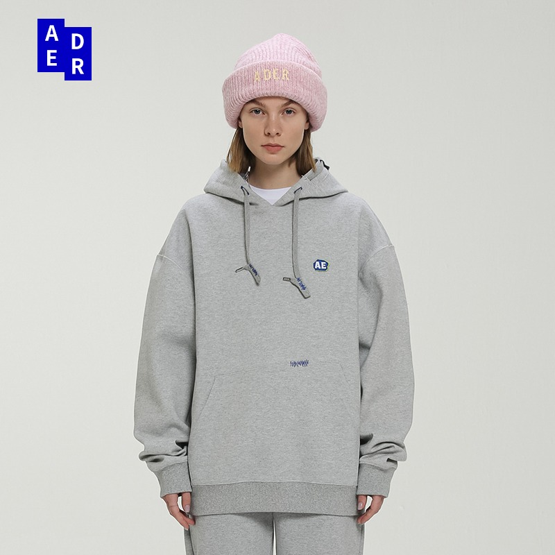 ADER ERROR卫衣连帽男女宽松韩版2021年新款秋季潮牌易烊千玺外套