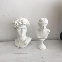 ins摆件 拍照小道具 维纳斯人像大卫树脂仿石膏雕像 艺术摄影摆拍