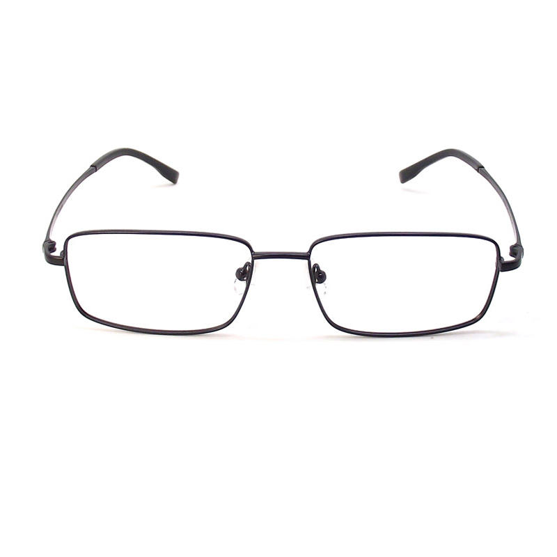 Business mens spectacle frame pure titanium ultra light full frame myopia spectacle frame titanium alloy hyperopia optical spectacle frame mens wide face