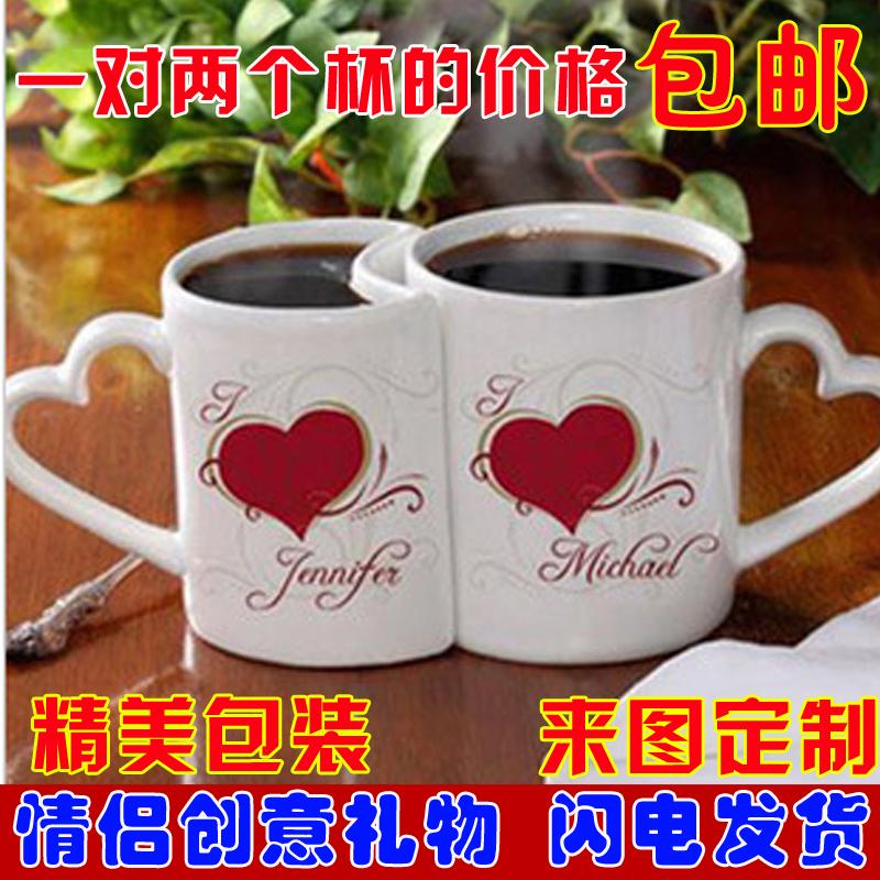 Diy ceramic для влюбленной пары Чашка цена за пару Индивидуальные пользовательские чашки для персонализированной персонализации чашек печатают фотографии на чашке