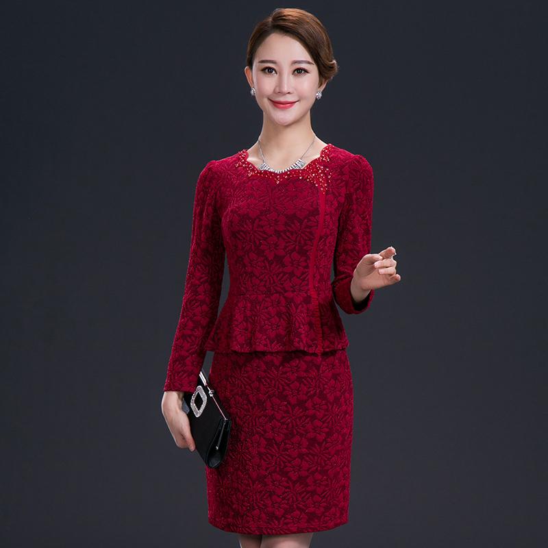 中年女装 夏装连衣裙