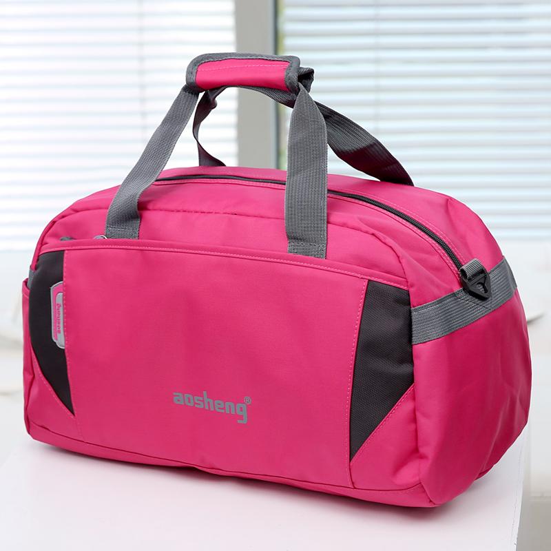 新款大容量短途男士行李包手提旅行包女旅行袋行李袋旅游包健身包