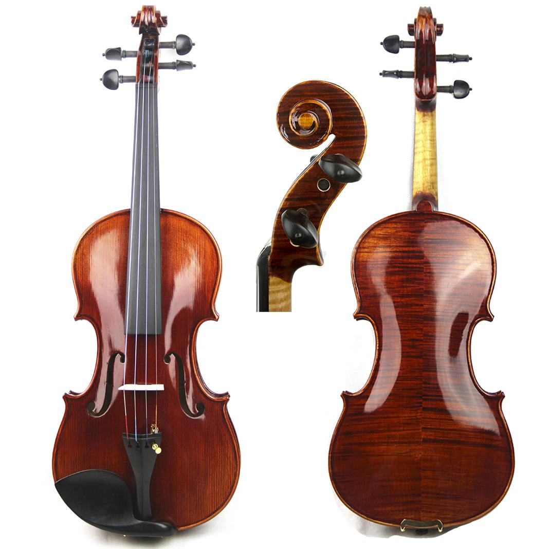 Итальянский кремон высококачественный Профессиональная проверка скрипки ручная работа Мастер скрипки делает марку