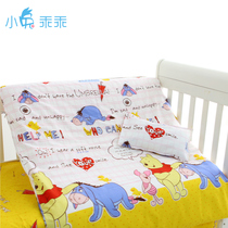 Rabbit Good children quilt bed sheets Baby Quilt pillowcase Cotton can be equipped with cotton in the multi-color optional