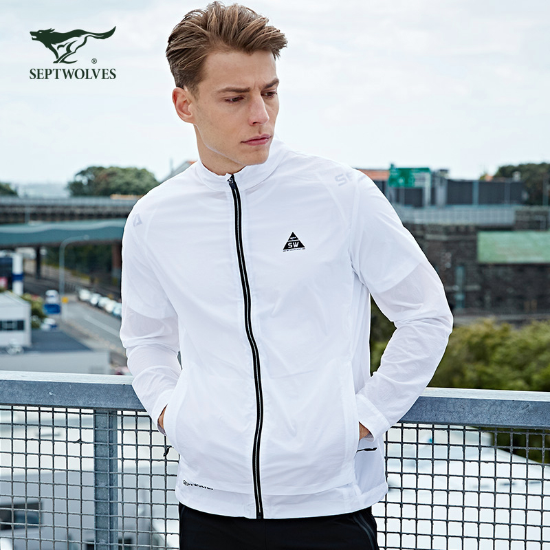 Seven wolves mens outdoor sports jacket mens youth jacket lightweight white 2019 new counter authentic