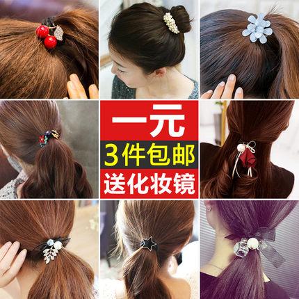 韩国发饰品发圈头绳发带扎头发橡皮筋女头花皮套头饰发夹发绳发卡