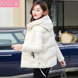 2019新款冬季韩版棉衣女宽松外套修身短款棉服女面包服棉袄反季潮