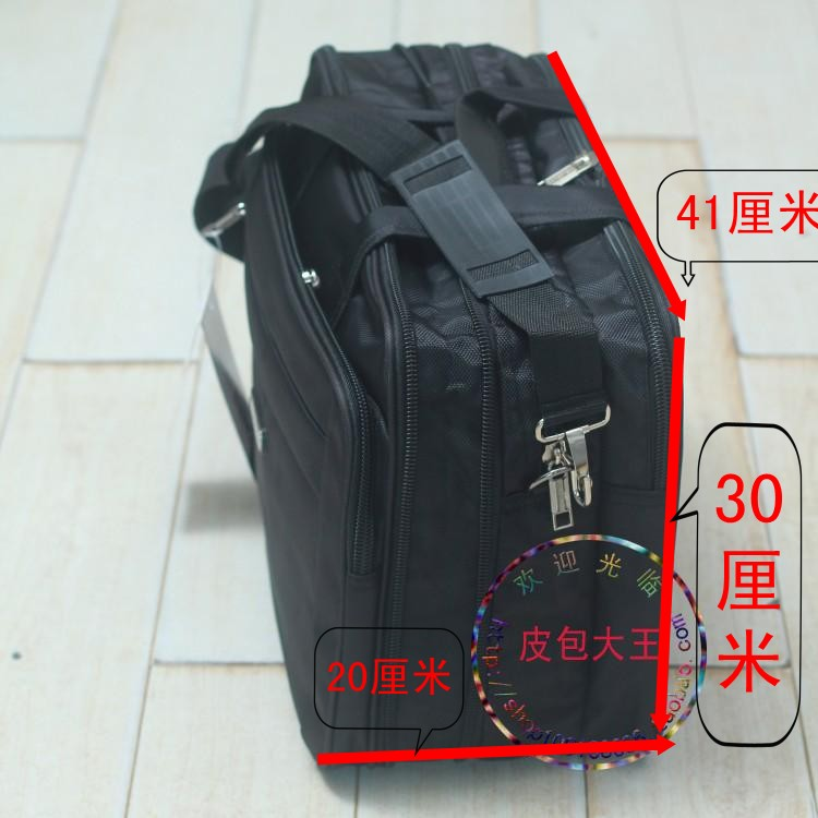 New mens large capacity with widened Oxford fabric messenger bag, handbag, computer bag, business travel bag and mail