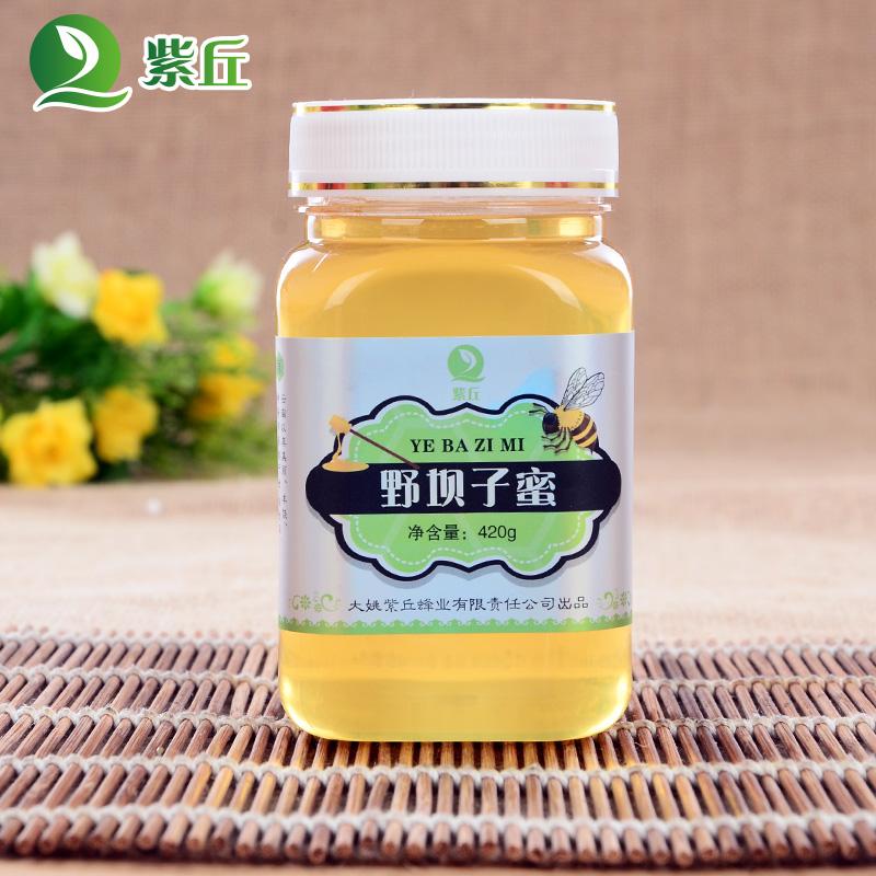 真蜂蜜 云南蜂蜜天然纯农家自产蜂蜜大姚野坝子土蜂蜜420克