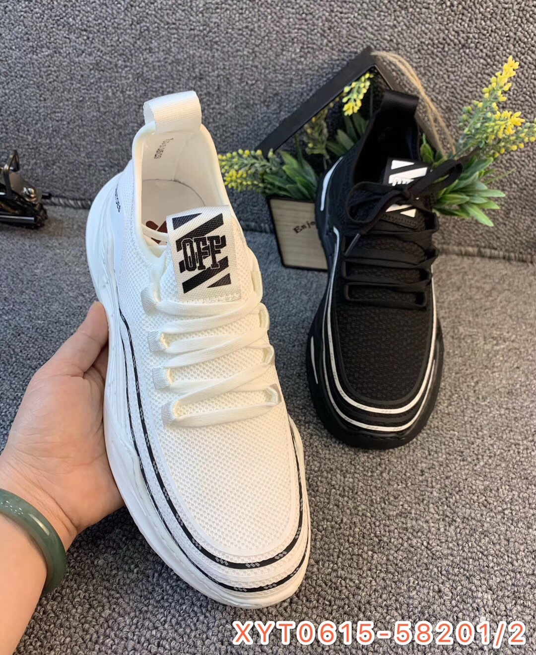 [West Asia pictures] 20 years new flying fabric leisure shoes, versatile shoes, fashionable shoes, high top shoes and sports shoes