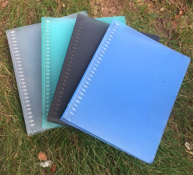 B5/26孔活页夹记事本外壳学生透明简约PP磨砂外壳笔记本替换内芯
