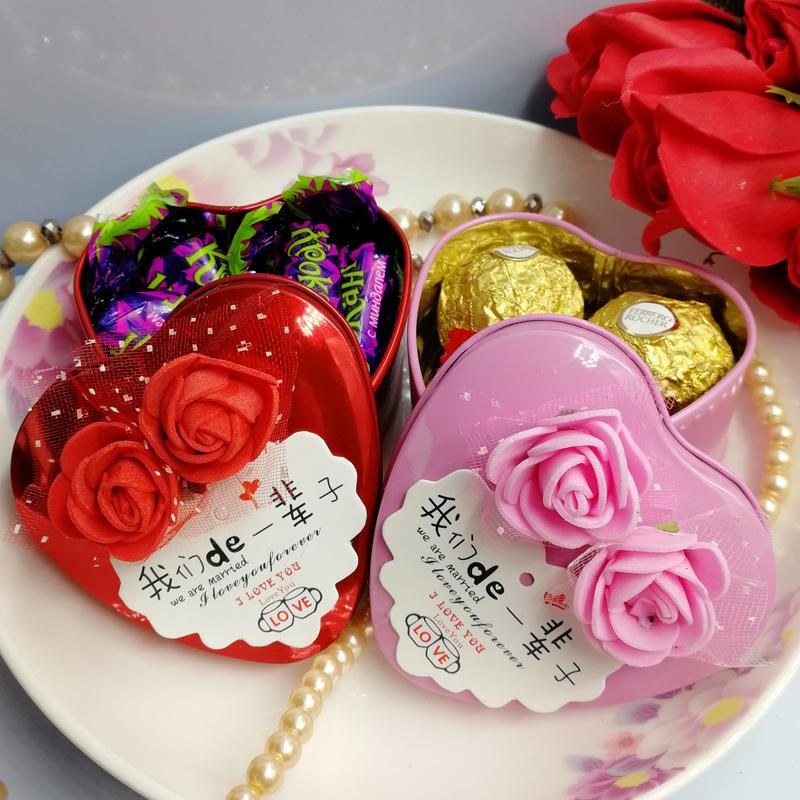 10月20日最新优惠结婚个性创意回礼盒欧式喜糖盒子