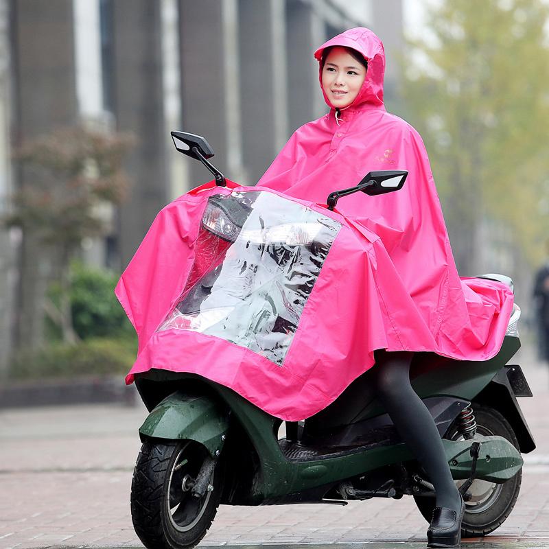 天堂正品男女成人摩托车雨衣电动车1人单人加大柔软雨披包邮