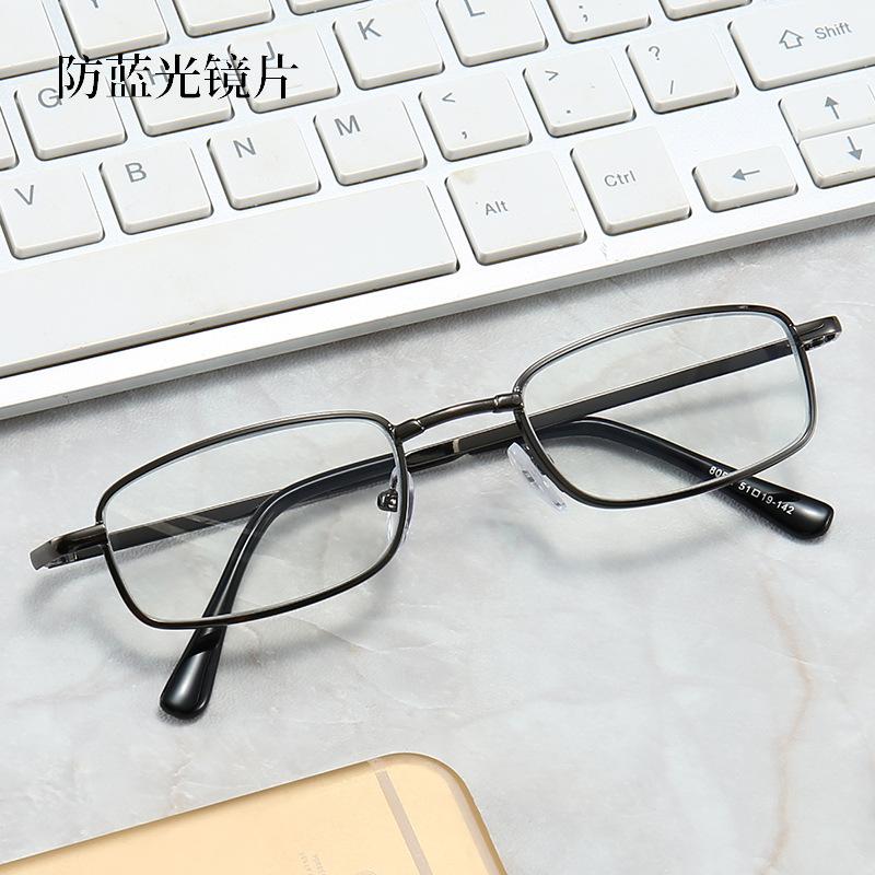 Export new presbyopic glasses for the elderly ladies glasses fashion reading presbyopic glasses metal optical frame for men