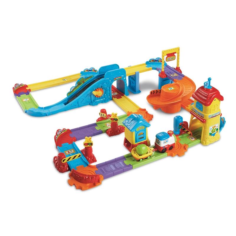 玩具反鬥城偉易達 神奇軌道車火車站火車玩具兒童玩具益智1歲以上